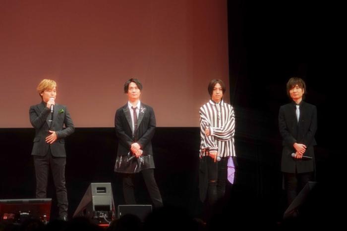 【写真】左から、森久保祥太郎、鈴木達央、蒼井翔太、前野智昭