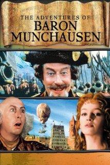 Poster do filme As Aventuras do Barão Munchausen
