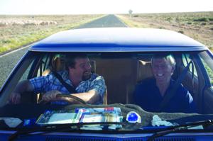 Boots (Shane Jacobson) and Charlie (Paul Hogan)