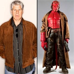 Ron-Perlman - Hellboy