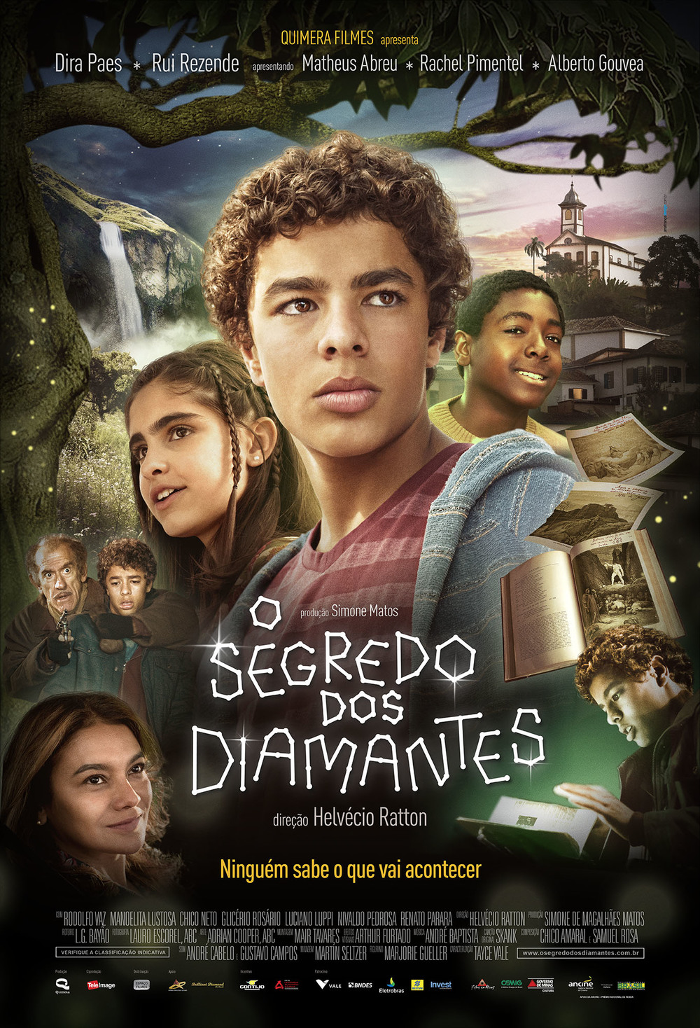 Poster do filme O segredo dos diamantes