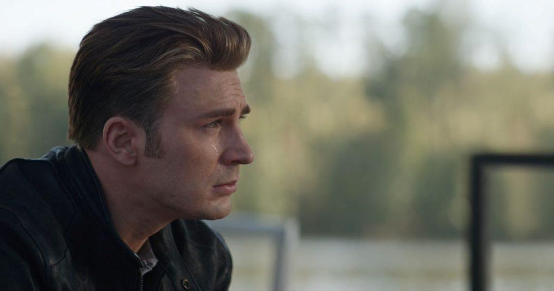 Vingadores: Ultimato - cena capitão américa chorando