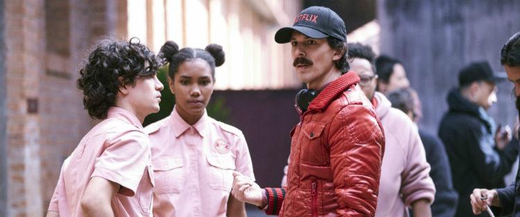 Boca a Boca - série da Netflix criada por Esmir Filho - making of com diretor e atores (bastidores)