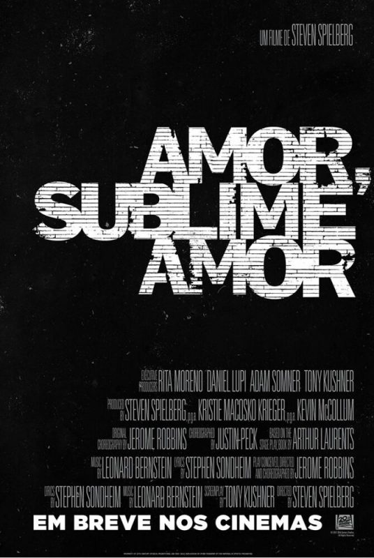 Amor, Sublime Amor Cartaz