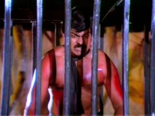 CinemaChaat_Adavi-Donga_trapped and shirtless