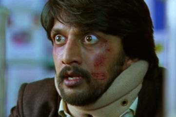 Eega-Sudeep the worse for wear