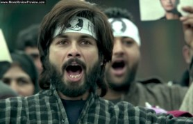 Haider protesting