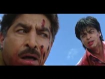 Baazigar-all the red paint