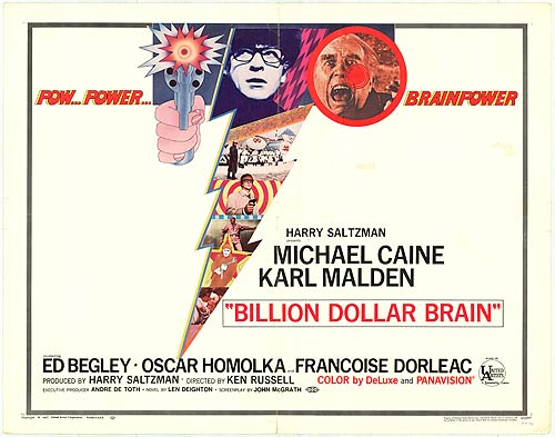 Billion Dollar Brain / Un cerveau d'un milliard de dollars (1967)
