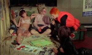 """""""jubilee"""" film punk de Derek Jarman"""