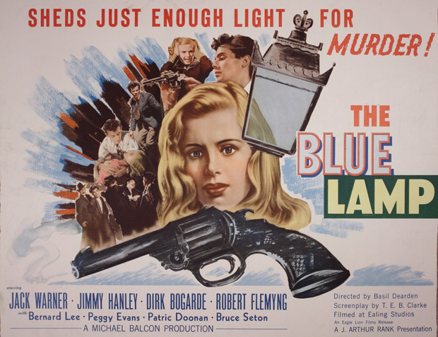 The Blue lamp / La lampe bleue (1950)