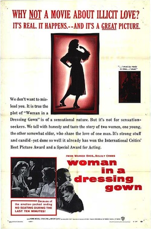 Woman in a dressing gown (affiche)