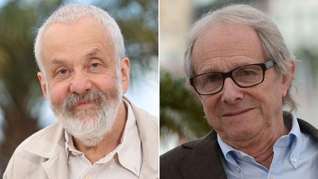 Mike Leigh et Ken Loach à Cannes