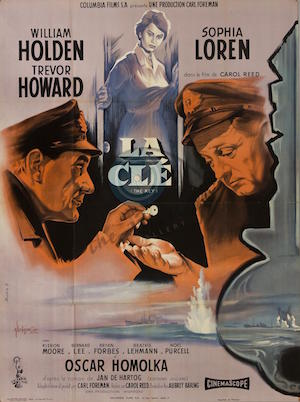 the_key_afficheFr1958