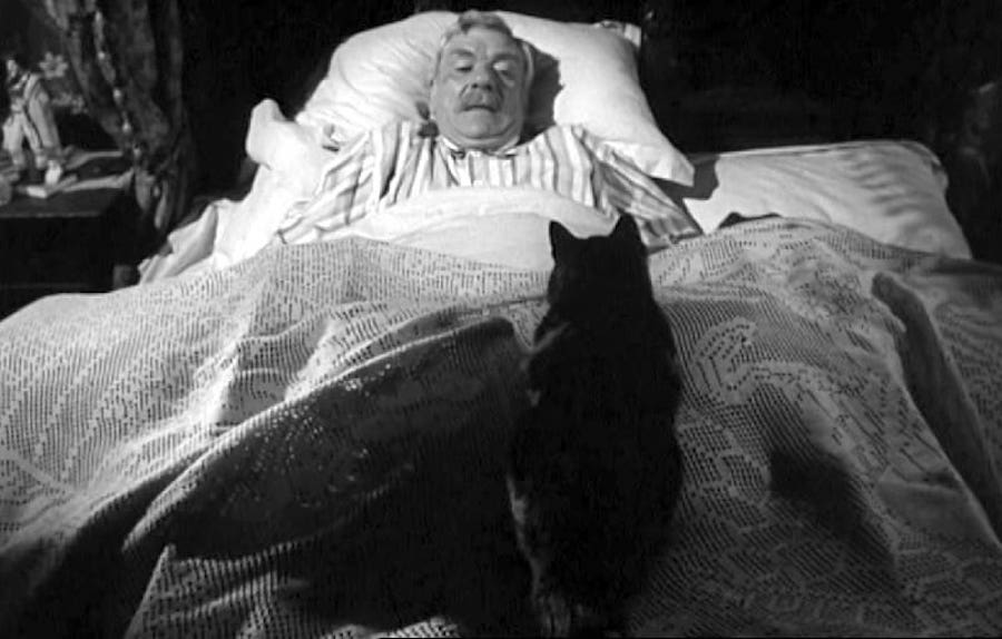 The Shadow of the Cat / Le spectre du chat (1961)