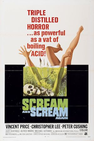 Scream and Scream Again (1970) affiche