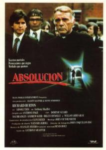 Absolution (1978) affiche