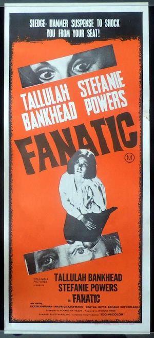 Fanatic (1965 / affiche)