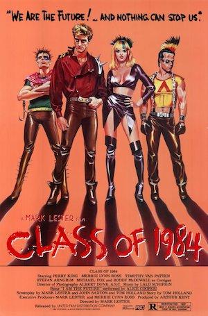 Affiche Class of 1984
