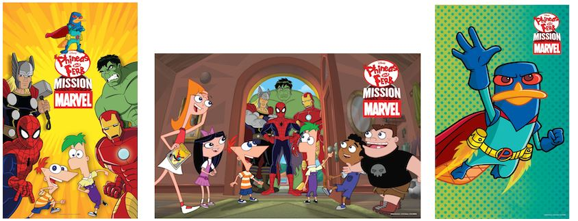 Phineas And Ferb – Mission Marvel: DVD Review