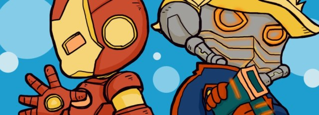 star_lord_and_ironman_by_kaiko6-d6rszrl