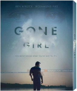 Gone Girl Blu Cover