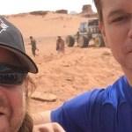 Matt Damon en Primera Imagen Desde el Set de 'The Martian' de Ridley Scott