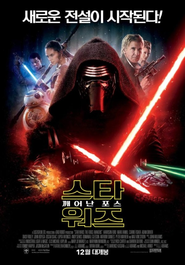 Star Wars: The Force Awakens - Póster