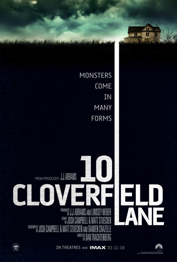 10 Cloverfield Lane - Póster