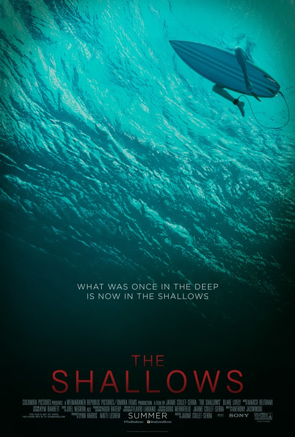 The Shallows - Póster
