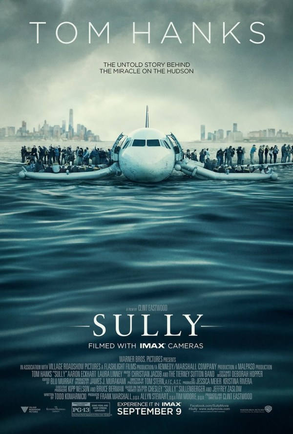 Sully - Póster
