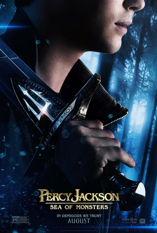 Percy Jackson Sea of Monsters Poster 1