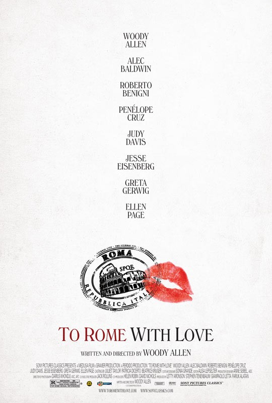 Movie Review: Woody Allen's To Rome with Love