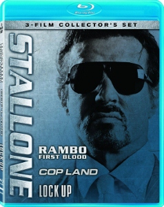 Blu-ray Review: Stallone 3-Film Collector's Set: First Blood - Cop Land - Lock Up