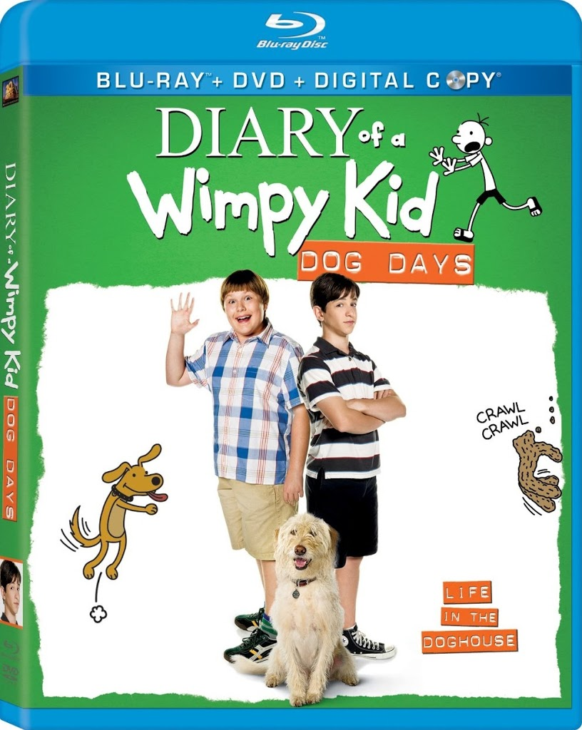 Blu-ray Review: Diary of a Wimpy Kid: Dog Days