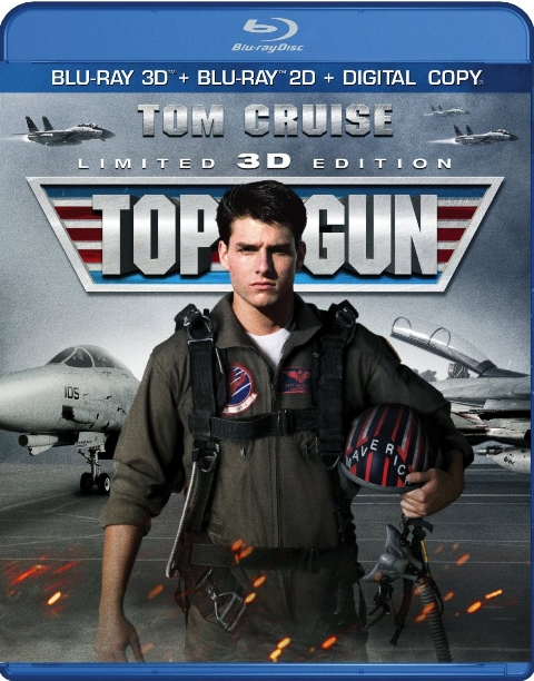 Blu-ray Review: Top Gun - Limited 3D Edition
