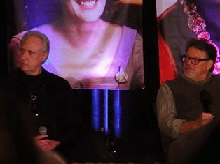 Brent Spiner and Jonathan Frakes at the TNG reunion Seattle Star Trek Con 2014