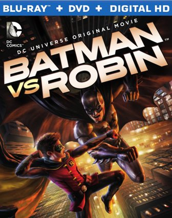 Batman vs Robin cover