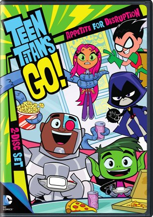 Teen Titans Go S2 P1 DVD cover
