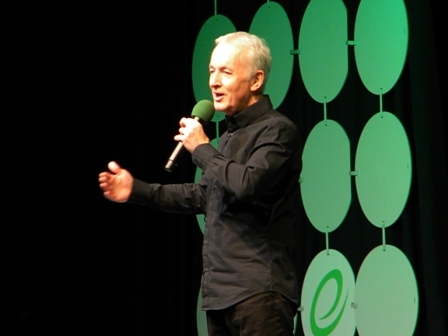 Anthony Daniels on stage ECCC 2015