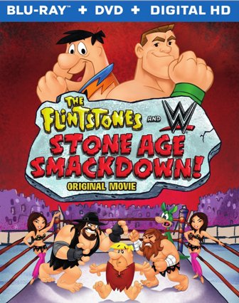 Flintstones Stoneage Smackdown WWE cover r