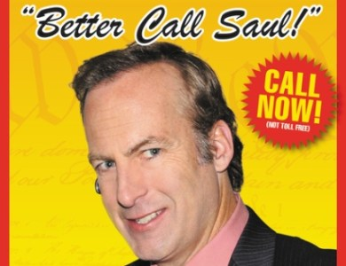 Better Call Saul book cover feat