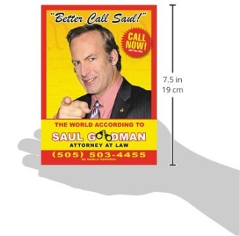 Book cover displayed in relation to average adult hand