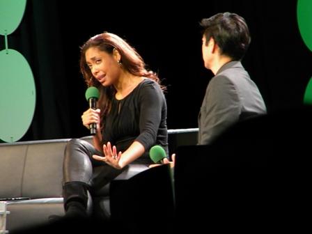 Gina Torres ECCC 2015