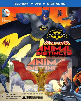 Batman Unlimited Animal Instincts cover rs