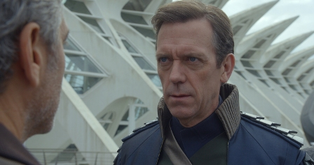 Disney's TOMORROWLAND David Nix (Hugh Laurie)  Ph: Film Frame ©Disney 2015