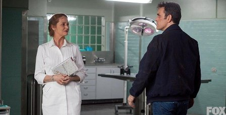 Nurse Pam believes Ethan's accusations about Wayward Pines are all in his head.