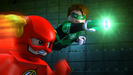 Lego Justice League Green Lantern Flash