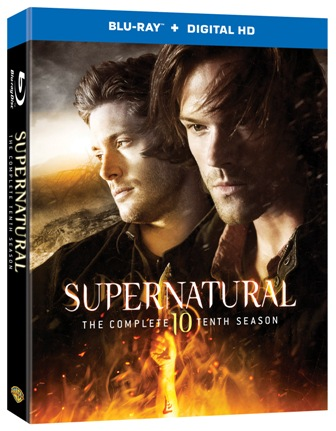 supernatural s10 BD cover