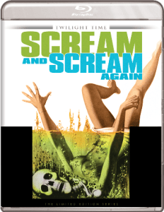 Scream and Scream Again Blu-ray Twilight Time
